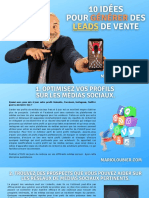 Marioloubier.com - 10 Idées Pour Générer Des Leads de Vente