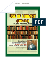 USE OF LIBRARY GNS 101 (1)-1