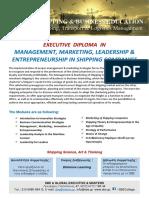 EXECUTIVE  DIPLOMA  IN MANAGEMENT, MARKETING, LEADERSHIP & ENTREPRENEURSHIP IN SHIPPING COMPANIES.pdf