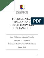 Folio Sejarah Tingkatan 2 - Tok Janggut
