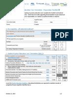 SPECO Checklist