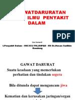 Kegawatan IPD by Dr.Uun
