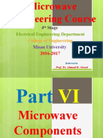 4- Microwave Components Course
