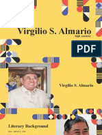 Virgilio Almario (High Zoociety)