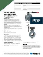 G-4000 ball valves
