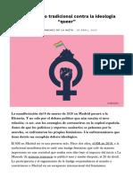 """El feminismo tradicional contra la ideología """"queer"""" - Aceprensa"""