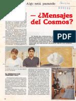 Mensajes del cosmos con parabólicas sevillanas - Javier Sierra
