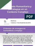 Redhnna Respuesta Humanitaria y Estrategias en un Contexto Complejo