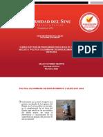 Clase 1. Poliica Colombiana de Envejecimiento y vejez 2015-2024