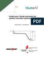 Guide pour l'étude sommaire de petites centrales hydrauliques.pdf