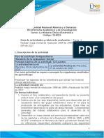 Guia de actividades y Rúbrica de evaluación Tarea 1 Mapa Mental Resolución 1995 y 839