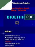 Bioethics -Judaism - Yr12