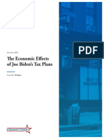 Economic Impact of Biden's Tax Plan