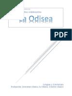 Evaluación La Odisea pdf