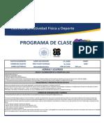 PROGRAMA DE CLASE KARATE-DO, INICIACION-11948-JUEVES-8-10 PM