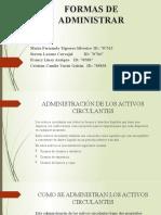Administración de activos circulantes