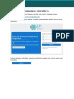 Manual del Contratista - TDP