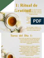 7 DIAS DE GRATITUD AÑO 2019
