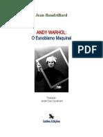 galileu edições andy WARHOL maquinal
