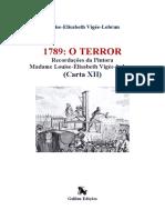 galileu edições  Madame Louise - carta XII