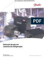 GDA Sensor de Deteccao de Gas Danfoss