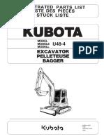 Parts list catalog Kubota U48-4_978P911000.pdf