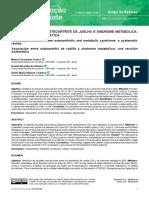 Artigo de Revisão osteoartrite e síndrome metabólica