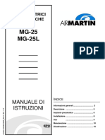MG-25_MG-25L_AIR MARTIN_Manuale Di Istruzioni