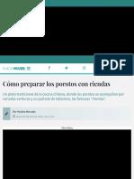 Cómo preparar los porotos con riendas - Sabrosía | Nueva Mujer.pdf