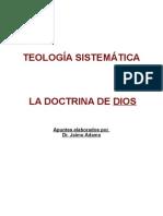 Guia sobre doctrina de Dios