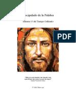 P. Fidel Oñoro - Discipulado de la Palabra - Semana 15 TO
