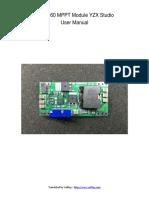 BQ24560 MPPT Module - User Manual