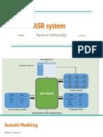 ASR_Modeling
