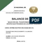 MONOGRAFIA 1 SISTEMA ELECTRICO DEL BUQUE LUIGI CHAVEZ