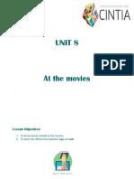 UNIT 8 - At the movies.pdf
