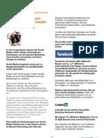 Recruiter Schaut Nach Twitter, Facebook LinkedIn Und Xing