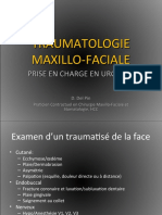TRAUMATOLOGIE MAXILLO-FACIALE