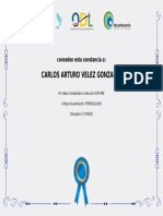 INDUCCION ODL CARLOS VELEZ