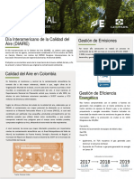 Boletín Ambiental Agosto GPK