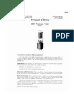 Western Electric Vacuum Tube Data 1941
