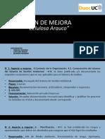 PLAN DE MEJORA evaluación 5 auditoria
