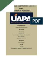 tarea 2 de Teoría de los Test y Fundamentos de Medición