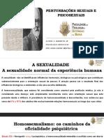 PERTURBAÇÕES SEXUAIS E