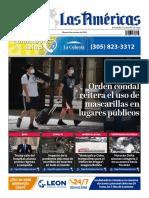 DIARIO LAS AMÉRICAS Portada digital del martes 6 de octubre de 2020
