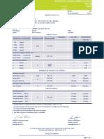 Informe de calidad cemento blanco tipo I semana 17 de 2013