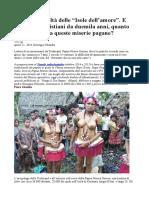 La tragica realtà delle Isole dellamore