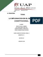 IMPUGNACION EN EL MARCO CONSTITUCIONAL