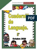 5°y 6° básico_Cuadernillo de Lenguaje  Octubre