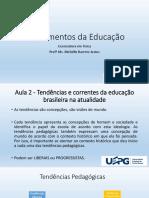 Tendências e correntes pedagógicas - Física