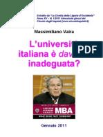 L'Università Italiana è davvero inadeguata?
